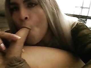 Latina CD Blows and Rides Hard Dick crossdresser (gay) hd videos