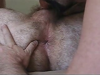 Daddy Bear Eats Hairy Asshole gay porn (gay) amateur (gay) bear (gay)