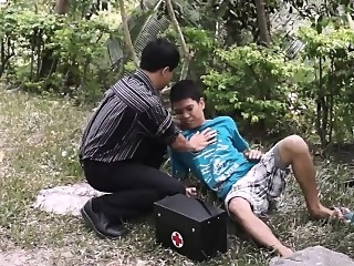 Mouth To Cock Resuscitation asian (gay) bareback (gay) blowjob (gay)