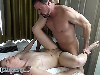Inked FTM jock gets fucked by Daddy dick after hot oral swap cumshot (gay) gays (gay) hd gays (gay)