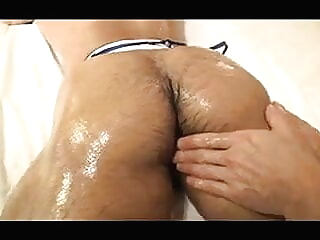 Asian Muscle Daddy With Hairy Ass Bottoms asian blowjob daddy